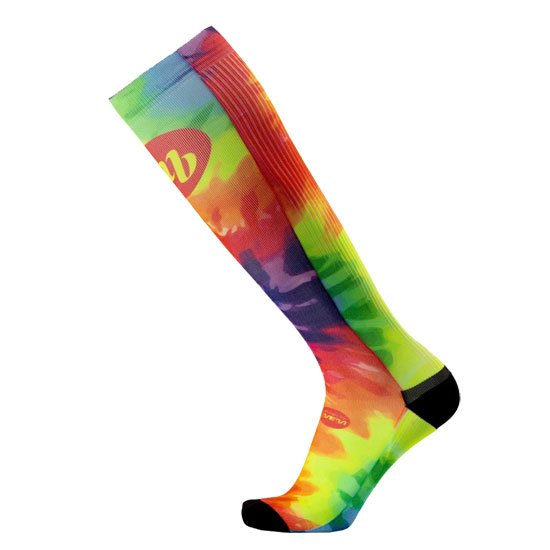 Chaussettes MBwear Trek Long - Rainbow