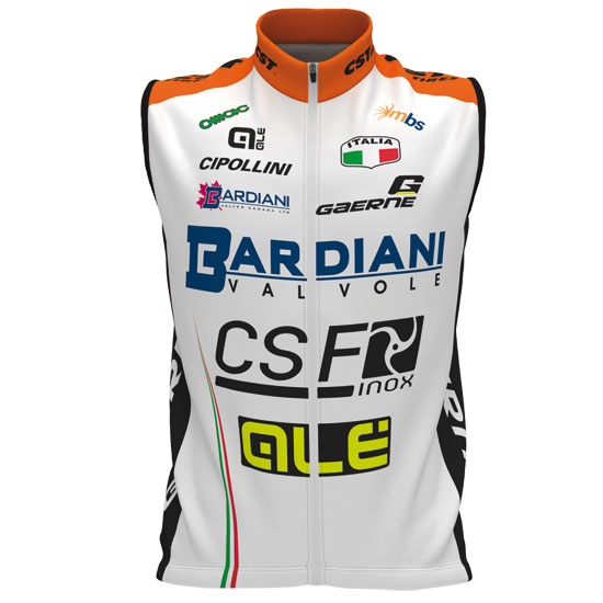 Gilet coupe-vent Bardiani Csf 2017