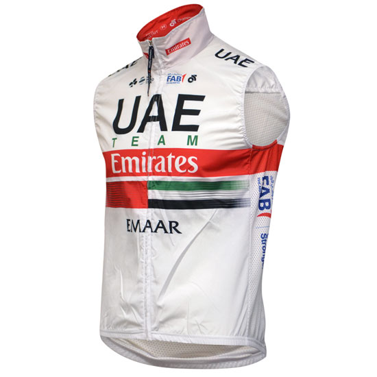 Gilet coupe-vent UAE 2019