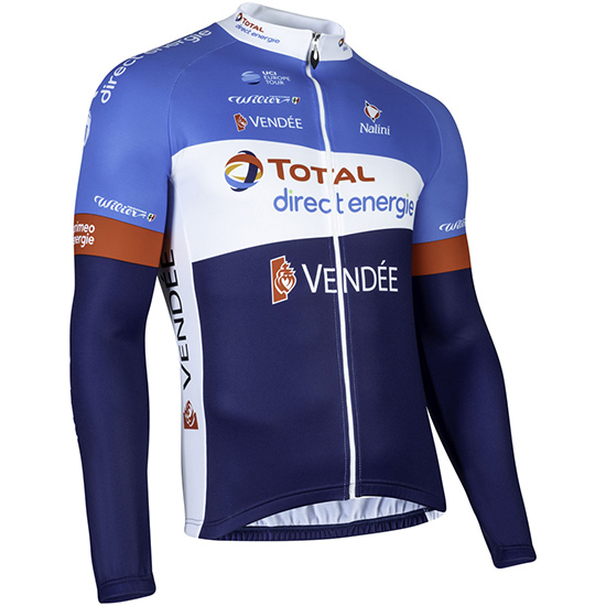 Maillot manches longues Total Direct Energie 2019