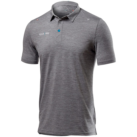 Polo Tech Pro Team Sky 2019 - Gris