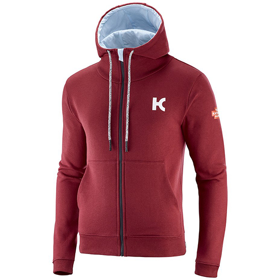 Sweat-shirt Katusha Alpecin 2019 - Rouge