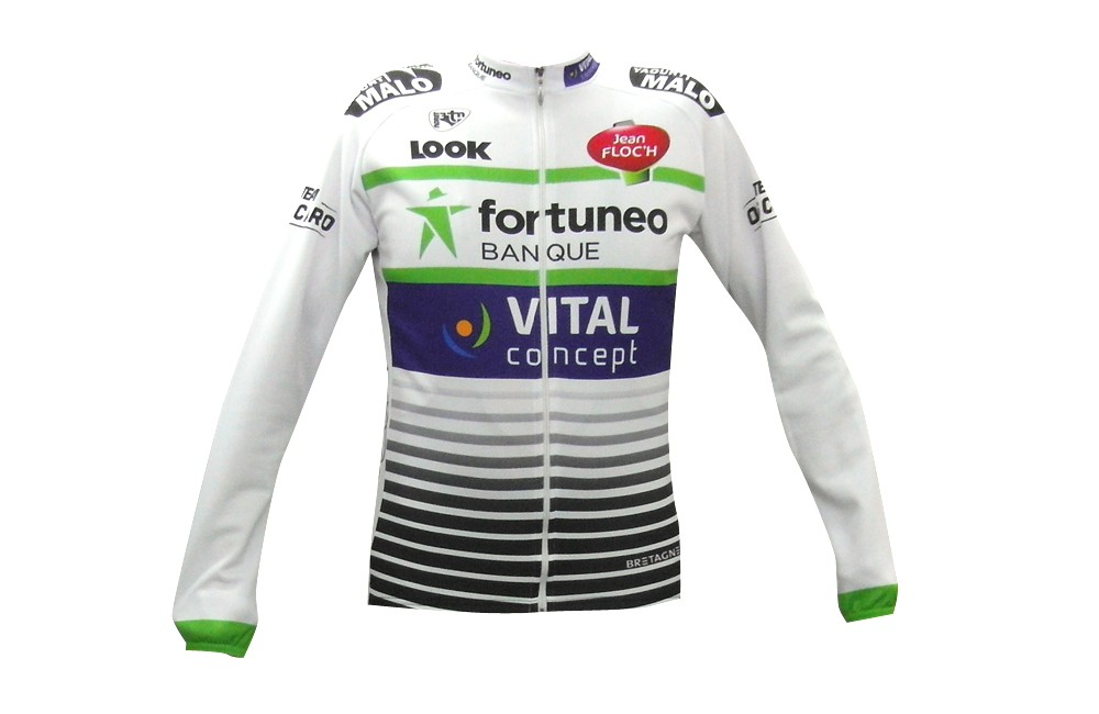 FORTUNEO-VITAL CONCEPT maillot manches longues 2018 Homme