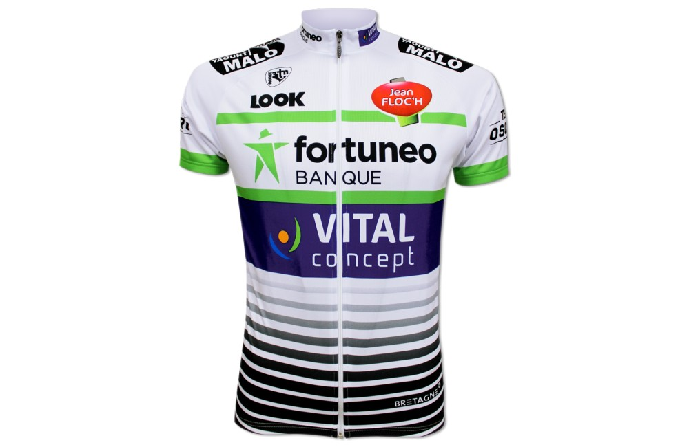 FORTUNEO VITAL CONCEPT maillot cycliste 2018 Homme