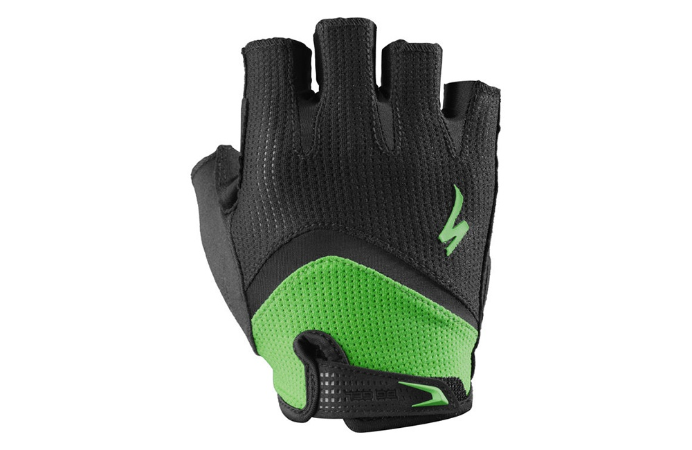 SPECIALIZED gants Body Geometry Gel noir/vert 2017 Homme