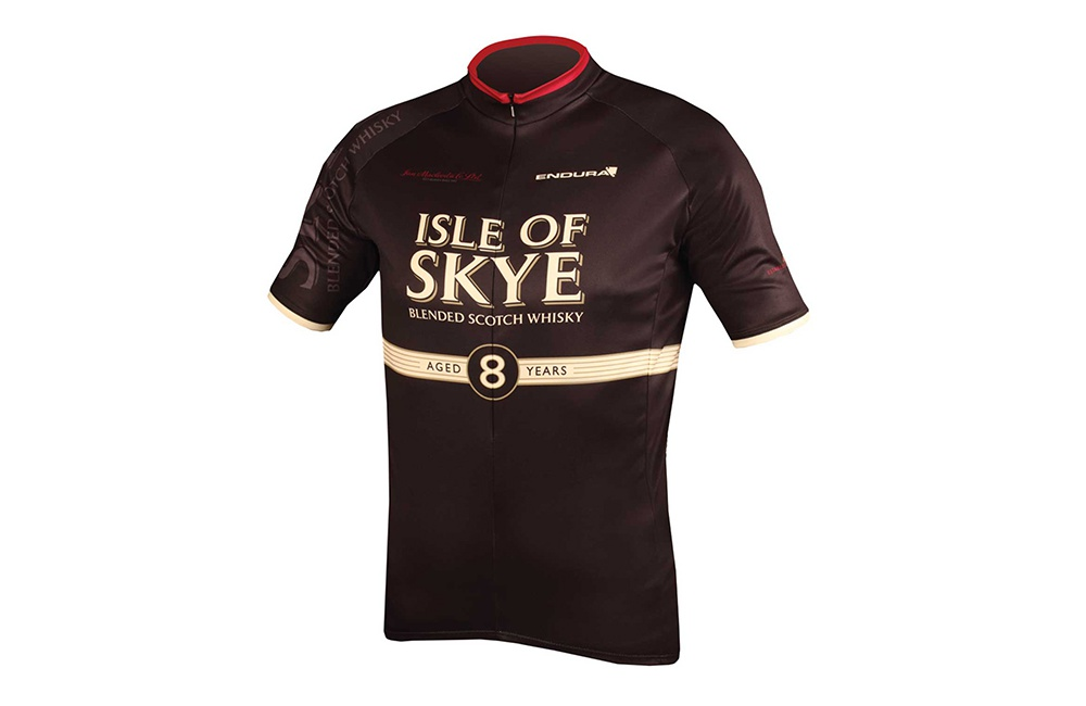 Endura maillot manches courtes Isle of Skye Whisky 2017 Homme