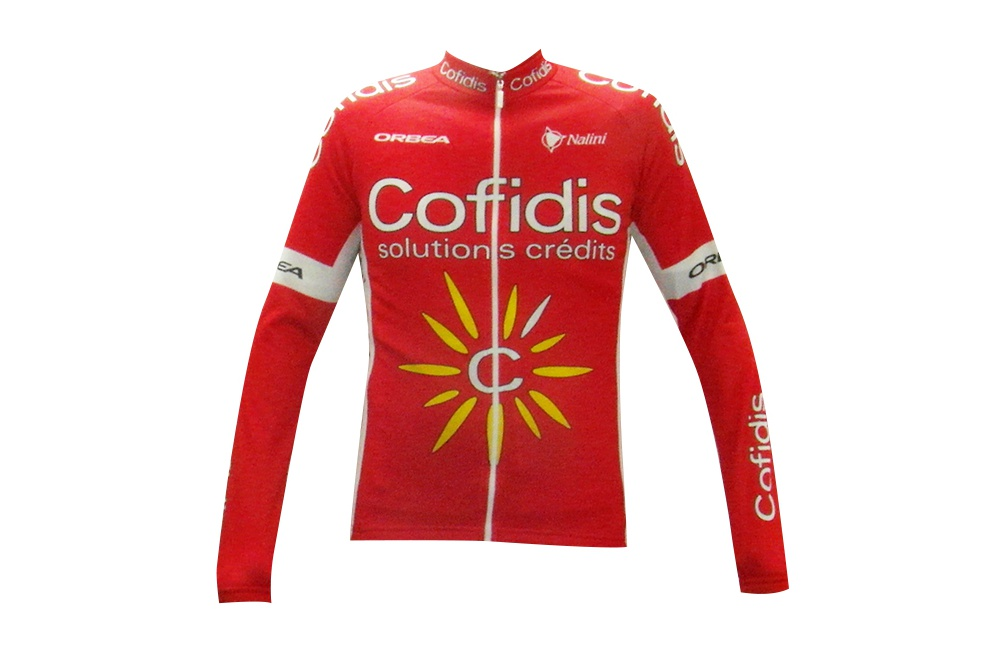 COFIDIS maillot manches longues 2017 Homme