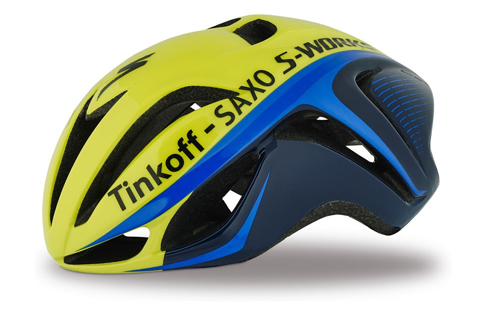 SPECIALIZED casque route S-Works Evade Team Tinkoff Saxo 2017 Homme