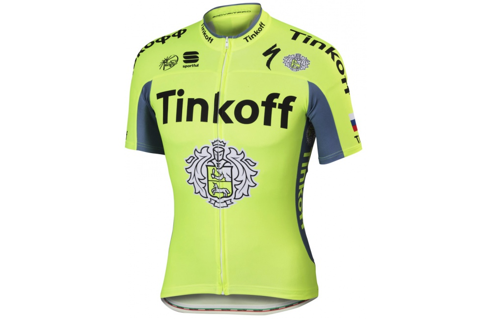 TINKOFF maillot manches courtes Team 2017 Homme